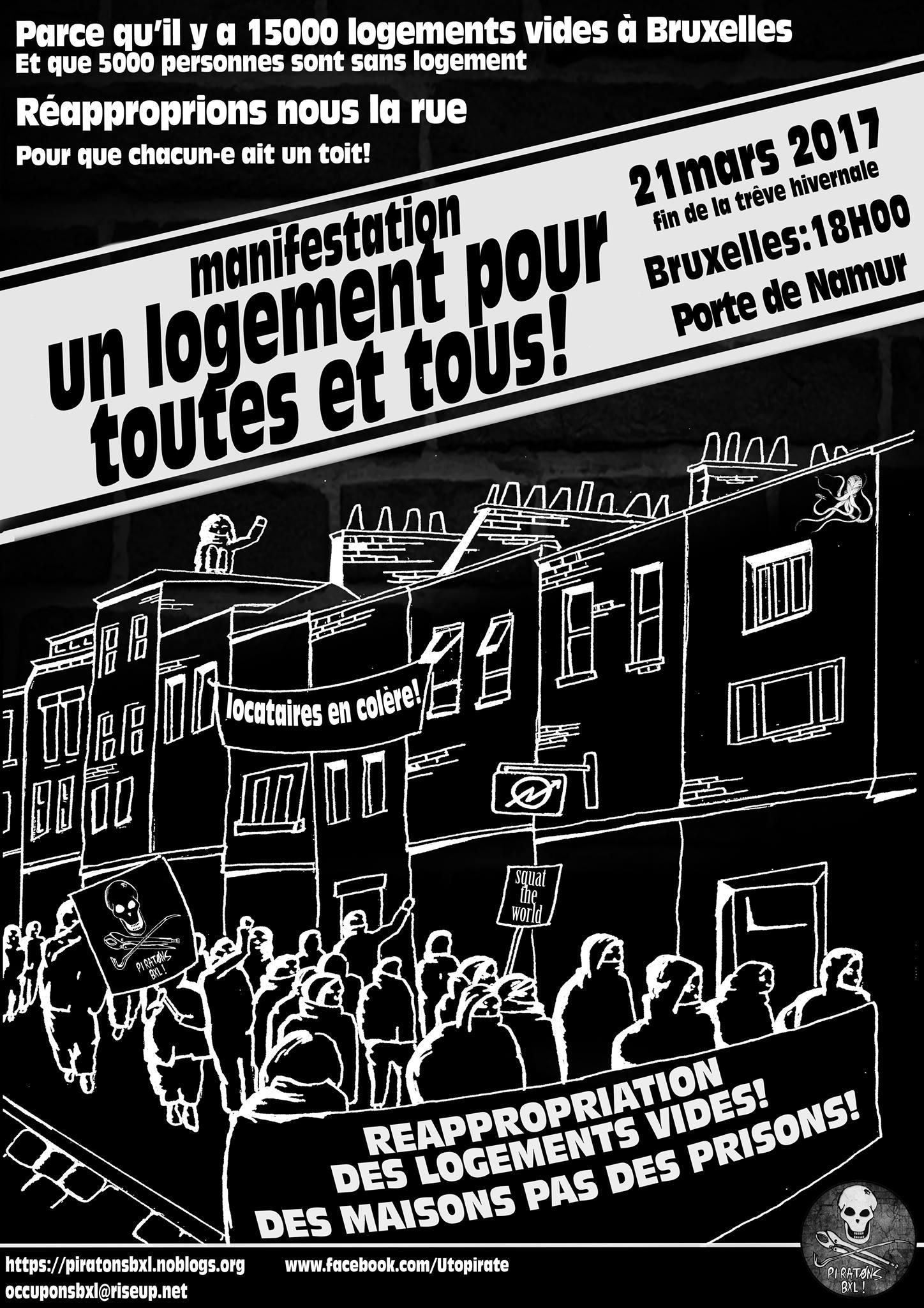 Sur le même sujet, une manifestation aura lieu ce 21 mars, Porte de Namur, à Bruxelles