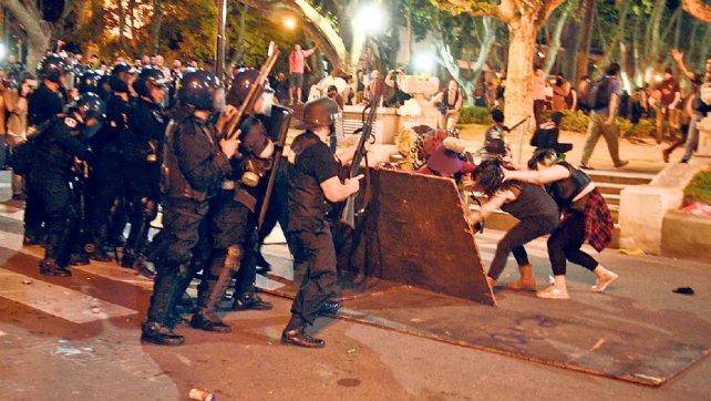 Les affrontements du 8 mars à Buenos Aires