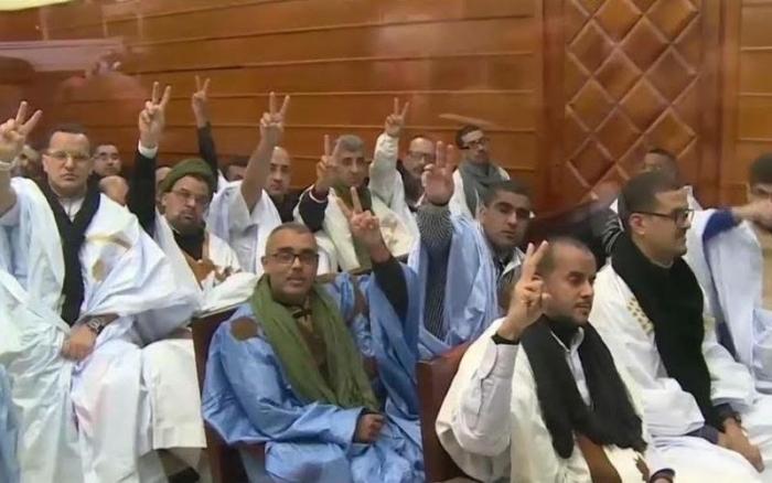 Les prisonniers sahraouis du groupe Gdeim Izik