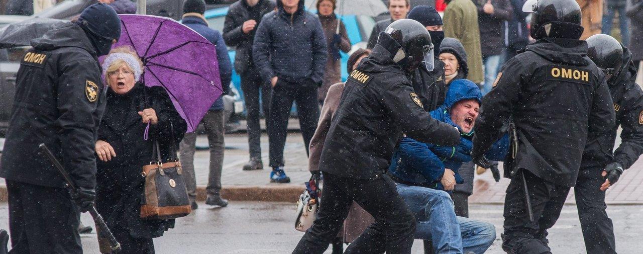 Arrestation ce samedi à Minsk