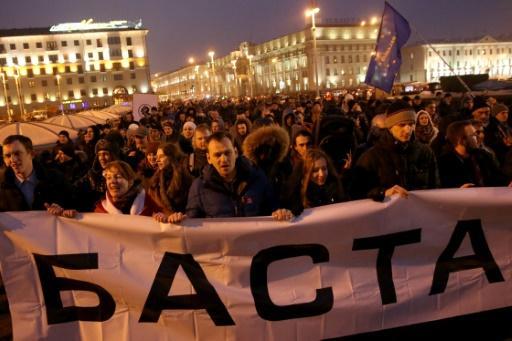 La manifestation du 15 mars à Minsk