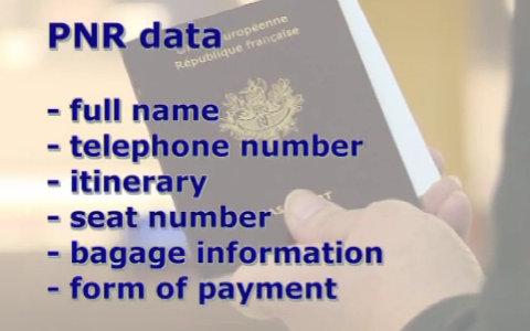 Les données PNR