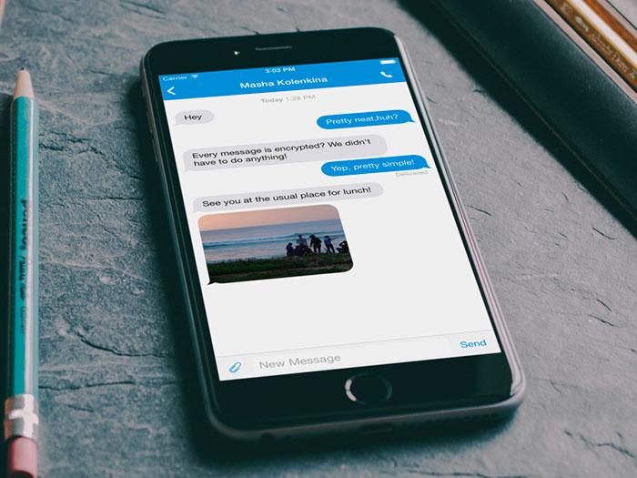 L'application de messagerie sécurisée Signal