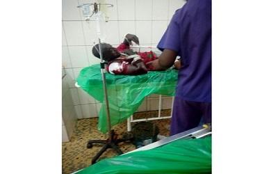 Le jeune Aminou, blessé par balle, dont l'état s'est empiré