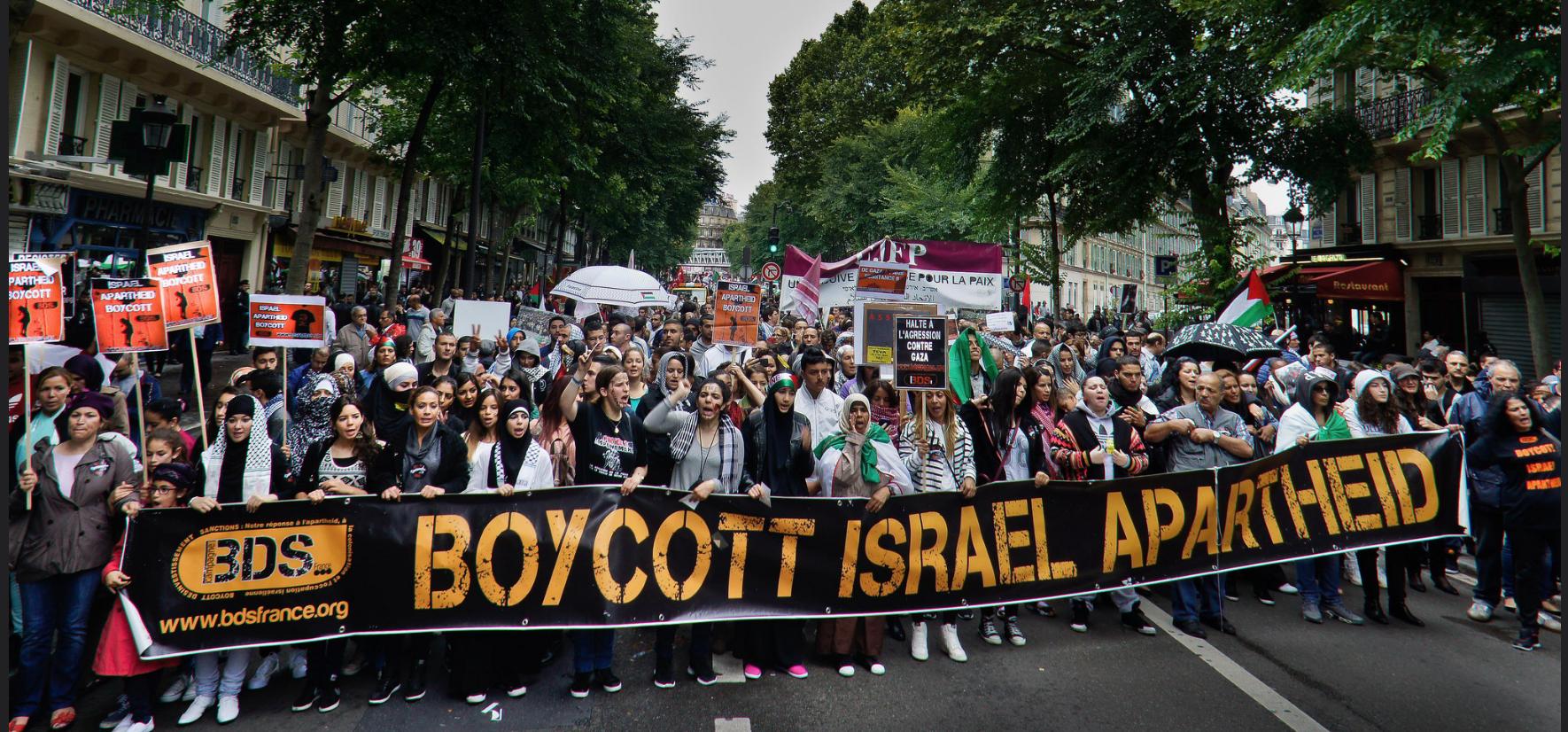 Manifestation de BDS en France (archive)