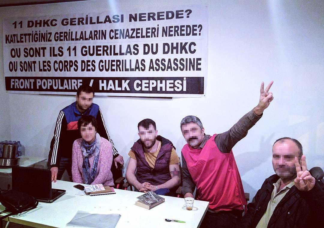 Grève de la faim solidaire à Bruxelles
