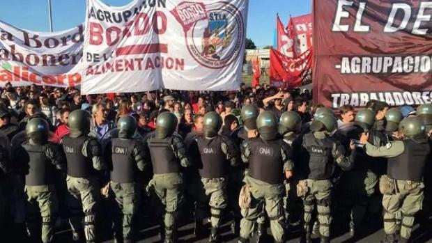 Grève générale hier en Argentine