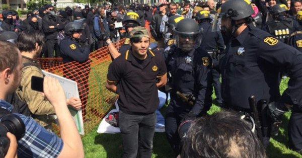 Arrestation à Berkeley (archive)