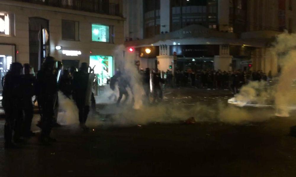 Les affrontements dans le quartier de l'Hôtel de ville