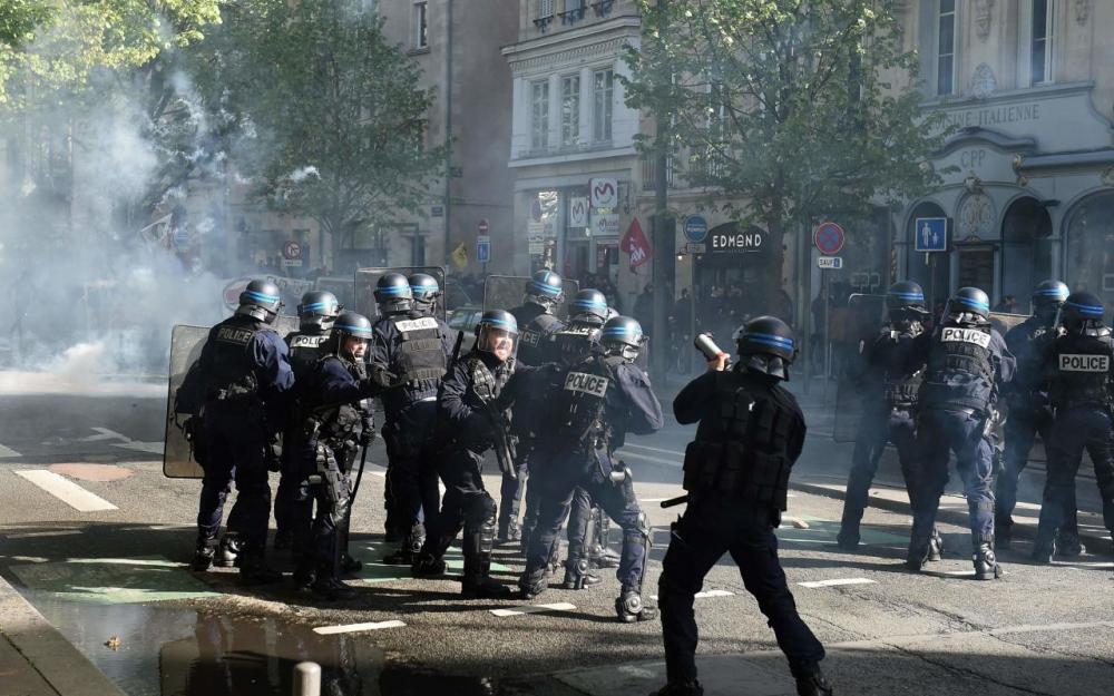 Les affrontements de dimanche à Bordeaux