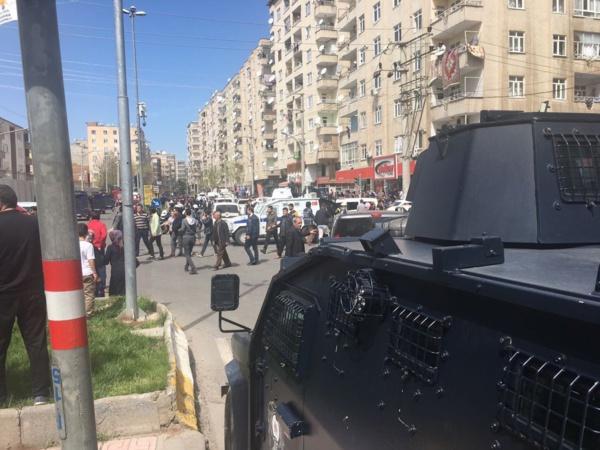Le bouclage du périmètre à Diyarbakir