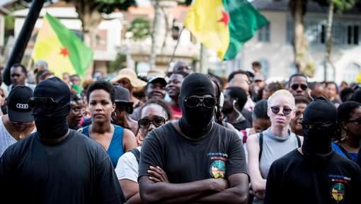 Manifestation en Guyane