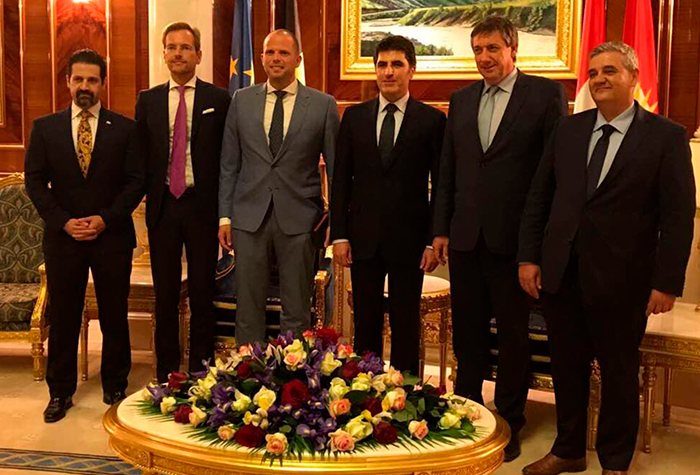 Visite ministérielle de la NV-A au Kurdistan irakien