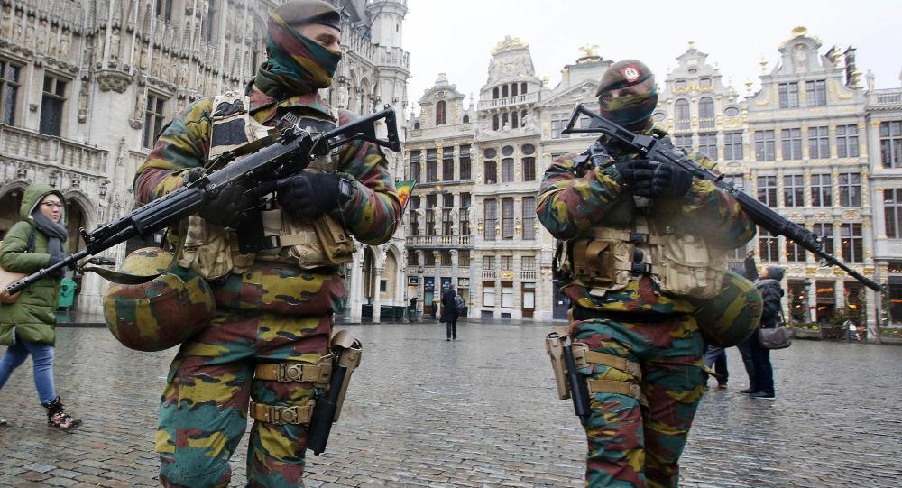 Militaires déployés à Bruxelles dans le cadre de l'opération