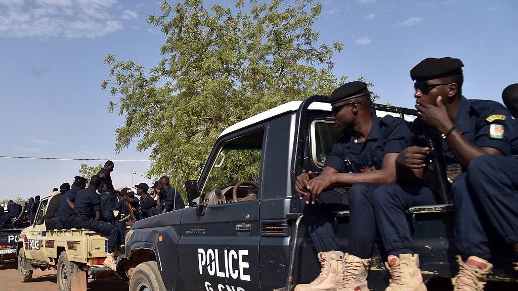 Intervention policière à Niamey