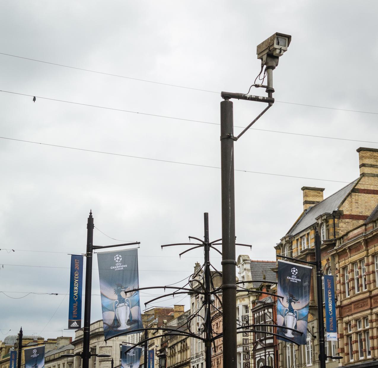 Le centre-ville de Cardiff.