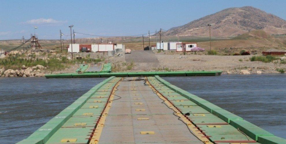 La frontière de Semalka, entre le Kurdistan irakien et le Kurdistan syrien