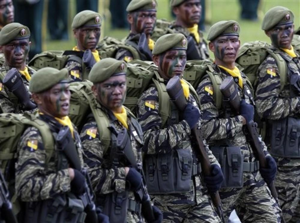 Forces anti-guérilla de l'armée gouvernementale