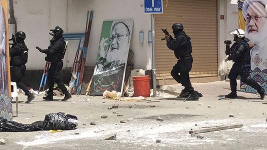 Répression au Bahrein