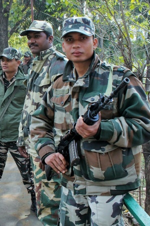 Forces de sécurité indiennes