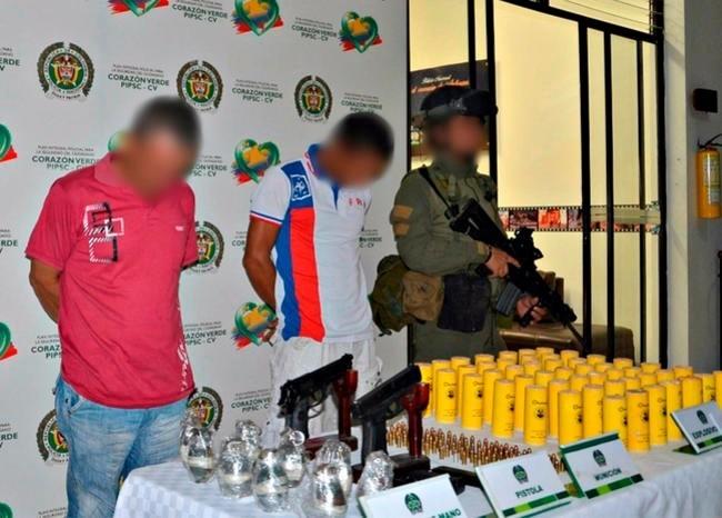 Arrestations dans l'Antioquia