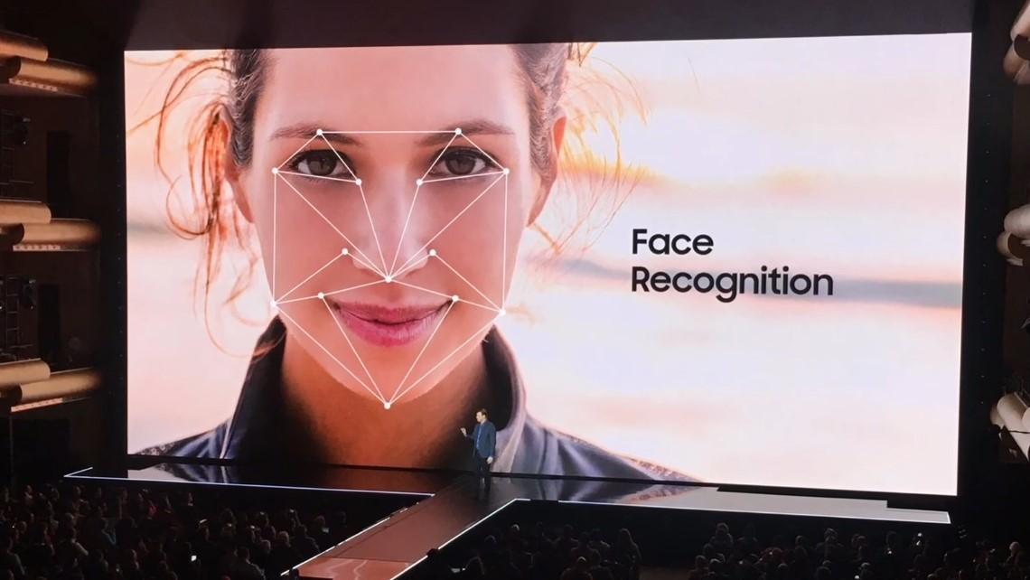 Le show vidéo de Samsung sur la reconnaissance faciale du Galaxy S8