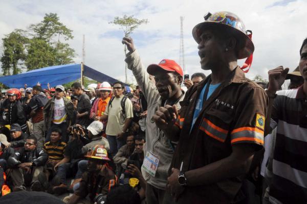 Mineurs grévistes de Freeport-McMoran