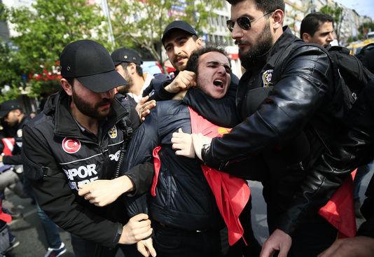 Arrestation à Istanbul