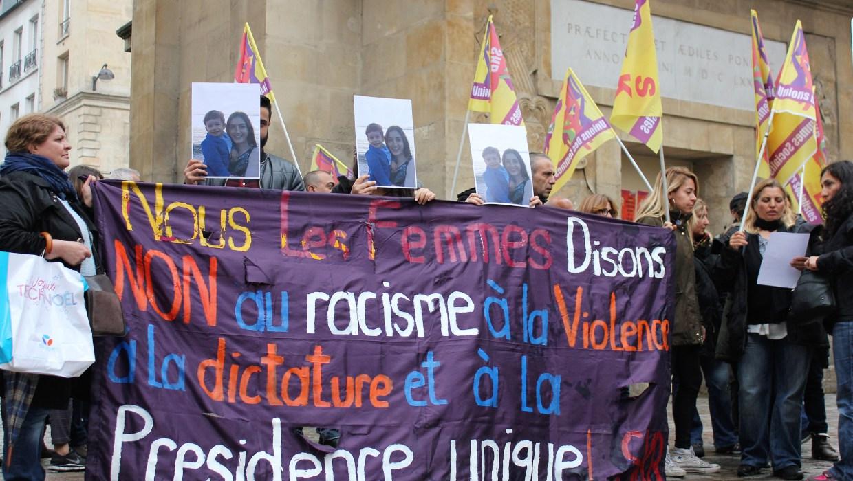 Manifestation pour Mesale à Paris ce 6 mai