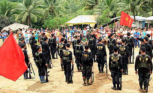 Un détachement de la NPA à Mindanao
