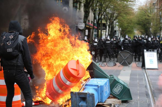 Les incidents de Portland (Oregon)
