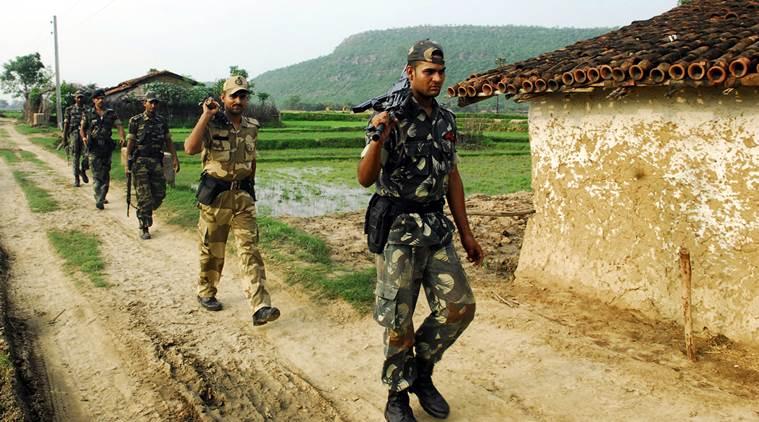 Forces de sécurité dans le Chhattisgarh