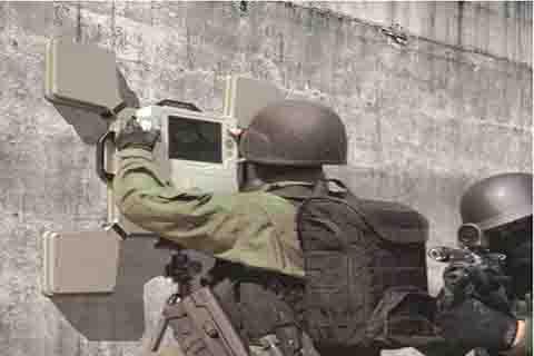 Radars de détection à travers les murs