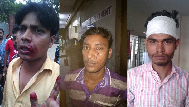Syndicalistes agressés au Bengladesh