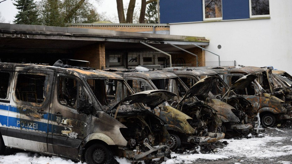 Une précédente attaque contre la police à Brême