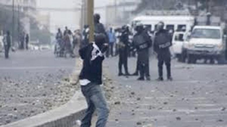 Les affrontements d'hier à Dakar