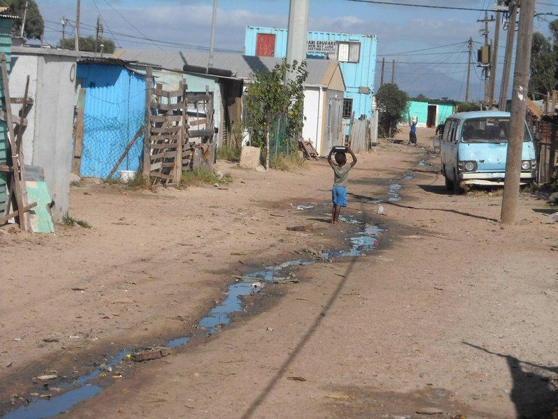 Le bidonville d'eMansenseni