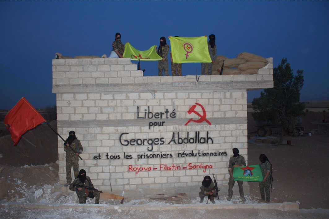 Le Bataillon International de Libération solidaire avec Georges Abdallah