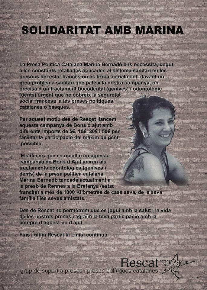 Solidarité avec Marina