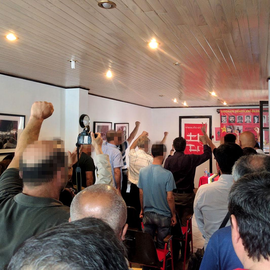 Commémoration pour les martyrs MLSPB