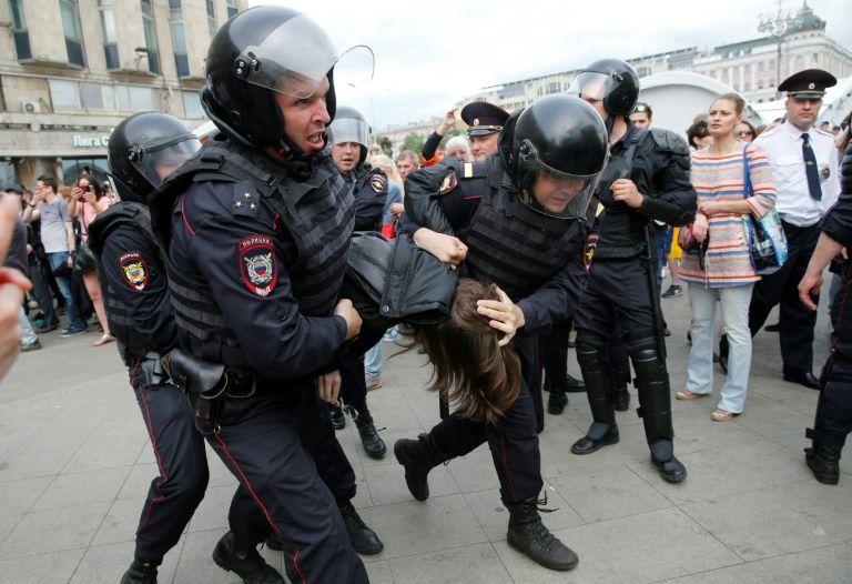 Arrestation le 12 juin à Moscou