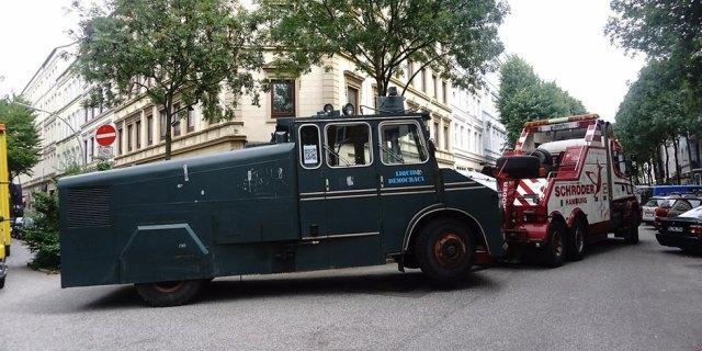 L'autopompe antifa