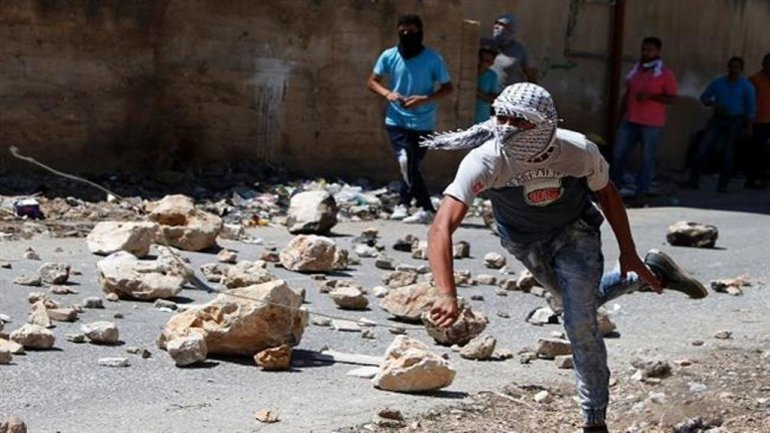 Affrontement en Cisjordanie