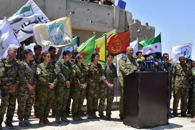 Le commandement QSD fait l'annonce historique de l'assaut final sur Raqqa