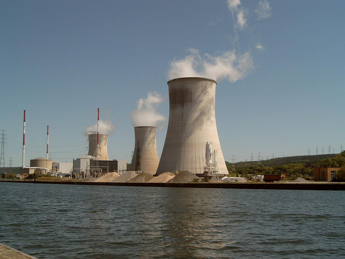 Tihange, l'un des deux sites nucléaires belges.