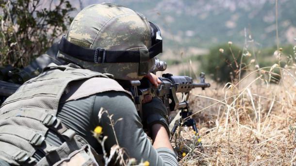 Opération anti-guérilla de l'armée turque (archive)