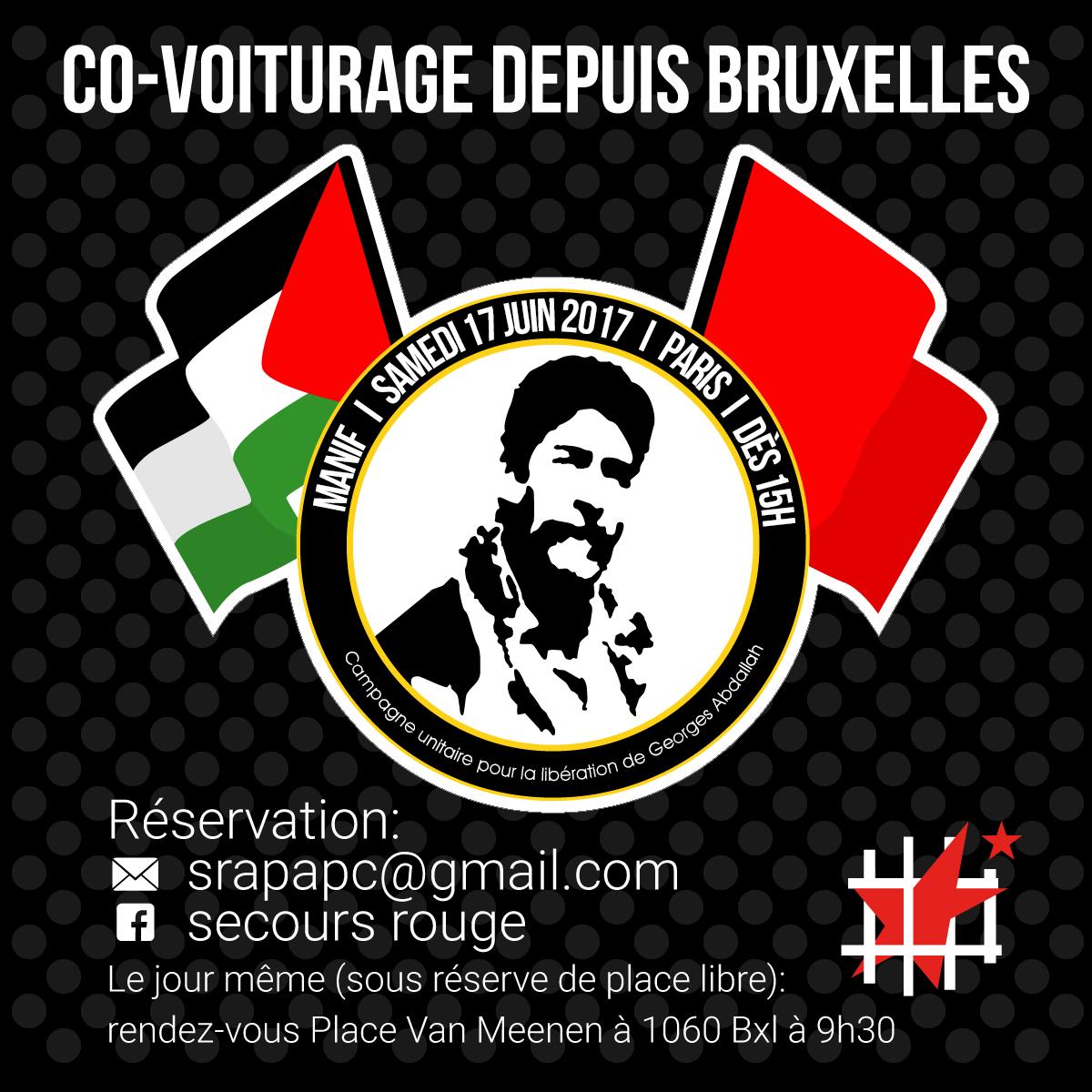 Covoiturage depuis Bruxelles