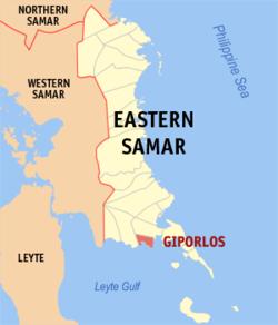 L'embuscade a eu lieu dans les environs de Giporlos