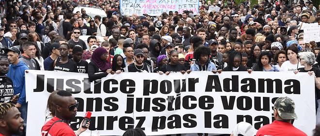 Marche à la mémoire d'Adama Traoré