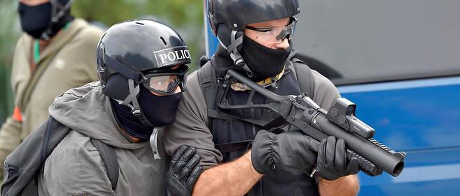 Policiers de la BAC de Rennes